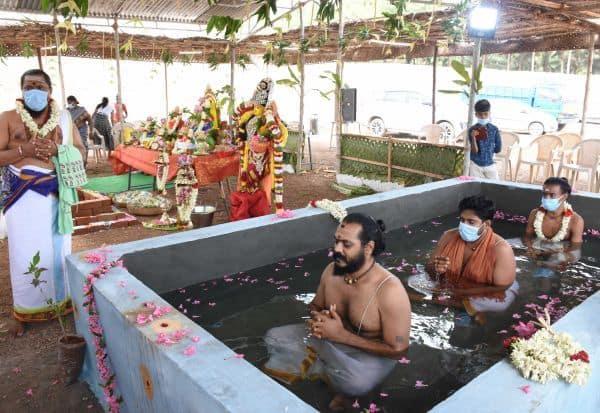 திருப்பூர் சாமளாபுரத்தில் 'நம்ம குளம்' திருவிழா
