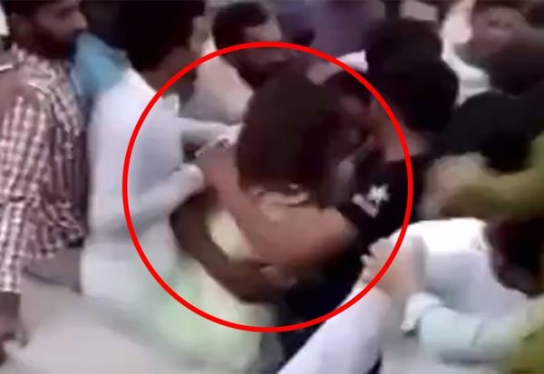 Pakistan, Independence day, woman assaulted