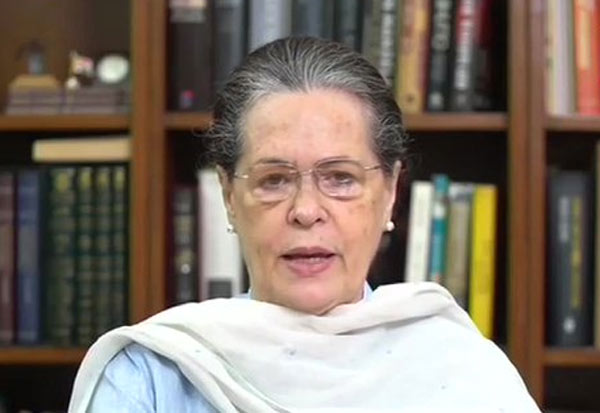 Meeting, Congress, Sonia Gandhi, Sonia, Opposition Leaders, Video Conferencing, காங்கிரஸ், சோனியா காந்தி, சோனியா, எதிர்க்கட்சிகள், ஆலோசனை