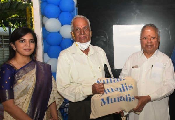 தி.நகரில் 'முரளிஸ் மார்க்கெட்' திறப்பு