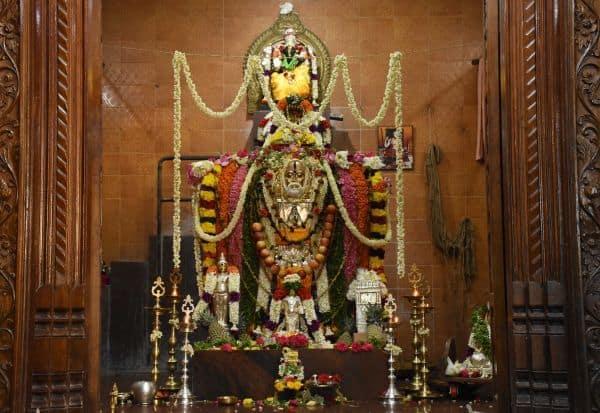 ராகவேந்திரர் மடத்தில் இன்று ரதோற்சவம்