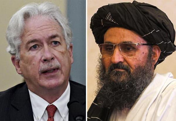 CIA Chief, Taliban Leader,Afghan, William Burns, Mullah Abdul Ghani Baradar