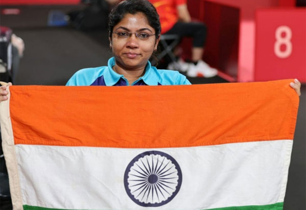 BhavinaPatel,Paralympics,TableTennis,1st Indian, Class 4