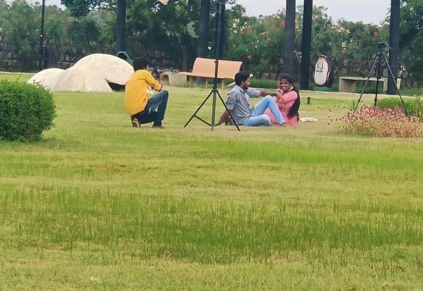 ஐந்திணை மரபணு பூங்காவில் குவிந்த பயணிகள்  போட்டோ, வீடியோ எடுத்து மகிழ்ச்சி