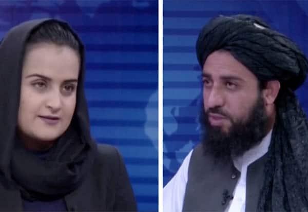 Female Journalist, Behesta Arghand, Taliban Leader, Made History, Interviewing, Afghanistan, தலிபான்கள், பேட்டி, பெண் பத்திரிகையாளர், ஆப்கானிஸ்தான், வெளியேறினார்