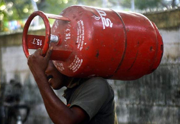 Gas, Cylinder, Price Hike, 25, Rupees,