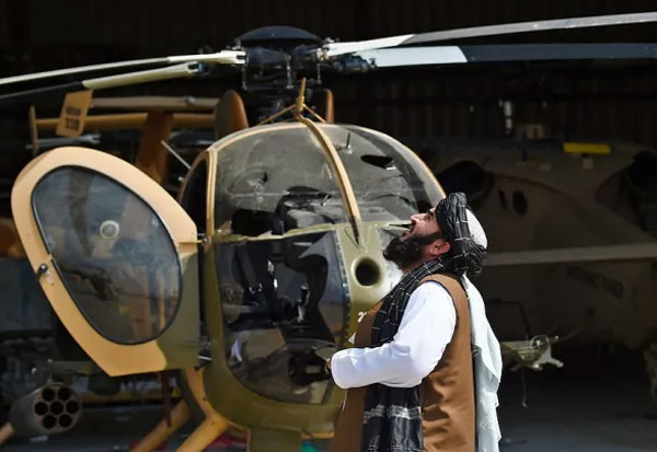 Taliban, US, disabled helicopters, planes