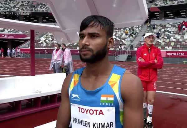 Paralympics, Praise4Para, Silver, Praveen Kumar, India, IND, High Jump, பாராலிம்பிக், பிரவீன்குமார், உயரம் தாண்டுதல், வெள்ளி, இந்தியா