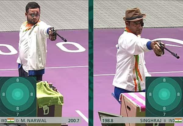 Paralympics, Shooting, India, ManishNarwal, GOLD, Singhraj, SILVER, Cheer4India, Praise4Para