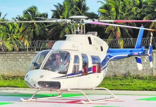 Helicopter Tourism, Madurai, Kodaikanal, Rameshwaram