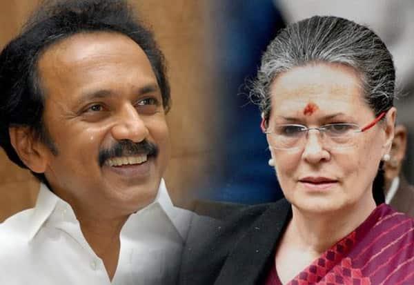DMK, Congress, CM Stalin, Sonia, Stalin, MK Stalin, Sonia Gandhi