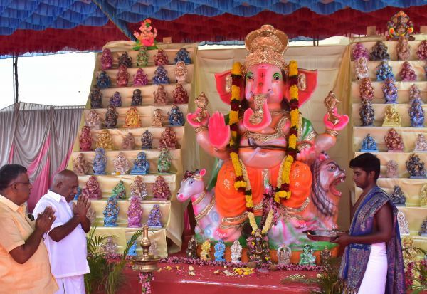 எழுச்சியுடன் விநாயகர் சதுர்த்தி ஹிந்து முன்னணி பெருமிதம்