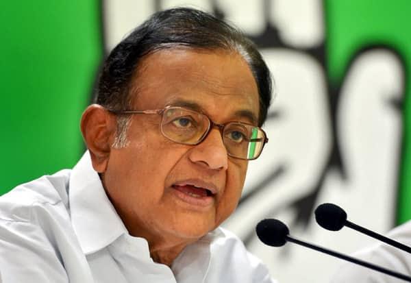 P Chidambaram, Congress, Sri Lanka