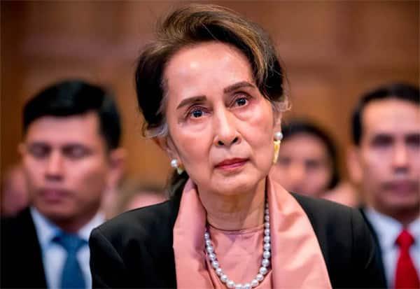 Aung San Suu Kyi, Unwell, skips, Myanmar, trial hearing, ராணுவம், ஆங் சான் சூகி, உடல்நல குறைவு, வழக்கு விசாரணை, ஒத்திவைப்பு
