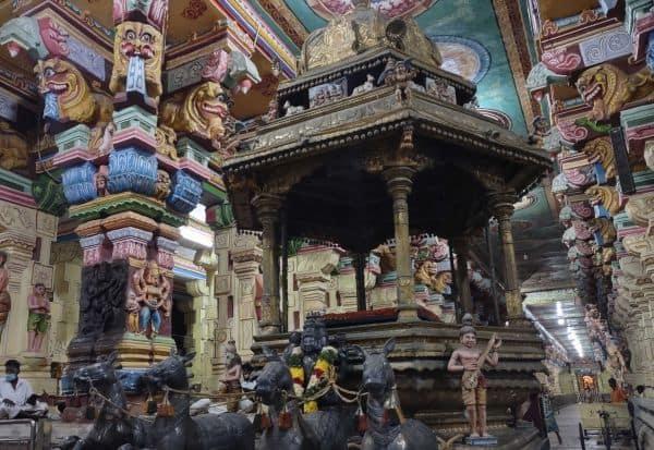 கருப்பாக மாறிய ராமேஸ்வரம் தங்கத்தேர்