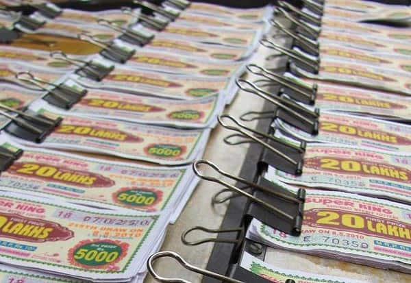 Madhya Pradesh, Lottery, gambling