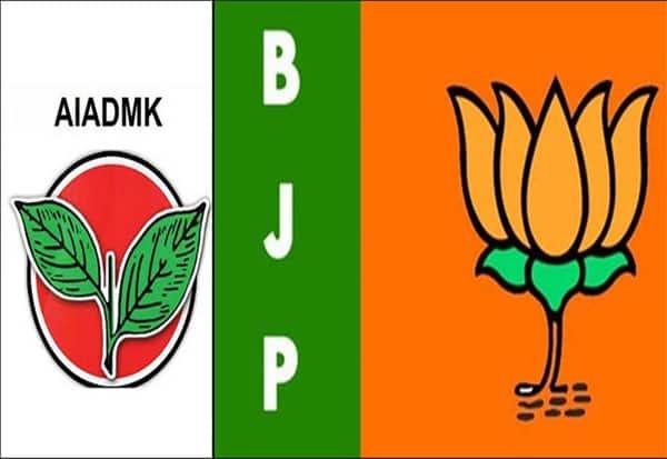 உள்ளாட்சி தேர்தல், பாஜ, அதிமுக,