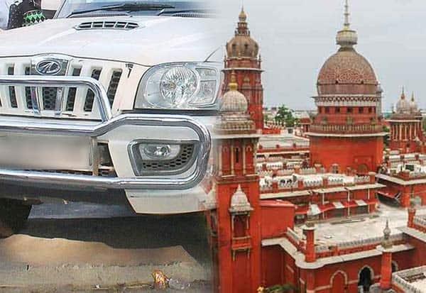 Chennai HC, Vehicle, Bumper, Ban Continues, சென்னை, உயர்நீதிமன்றம், வாகனங்கள், பம்பர், தடை, தொடரும், ஐகோர்ட்