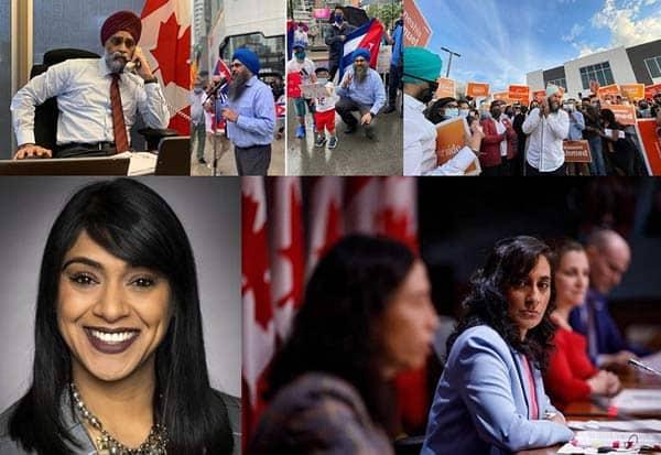 Canada Poll, Indian Origin Leaders, Win, Harjit Sajjan, கனடா, பொதுத்தேர்தல், ஜஸ்டின் ட்ரூடோ, இந்திய வம்சாவளி, வெற்றி