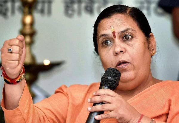 Uma Bharti, BJP, Slippers Remark, Bureaucrats