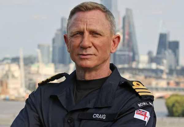 James Bond Daniel Craig appointed ஜேம்ஸ்பாண்ட் நடிகர் டேனியல் கிராக் பிரிட்டன் கப்பற்படை  தளபதியாக  நியமனம்honorary Royal Navy Commander