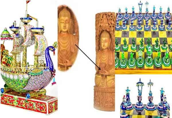 புத்தர் சிலை, மயில் கப்பல், சதுரங்கம்; தலைவர்களுக்கு மோடி அளித்த சிறப்பு பரிசுகள்