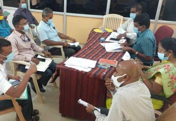 மண்டல அலுவலர்களுக்கு  தேர்தல் பயிற்சி வகுப்பு