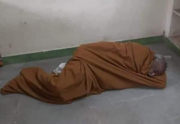 போலீஸ் ஸ்டேஷன் தரையில்  துாங்கிய 'மாஜி' மத்திய அமைச்சர்