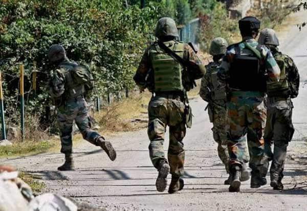 Kashmir, Terrorist, GunShot