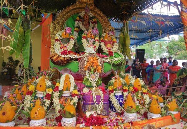 மகா சண்டி  ஹாேமம் நிறைவு  திரளான பக்தர்கள் பங்கேற்பு