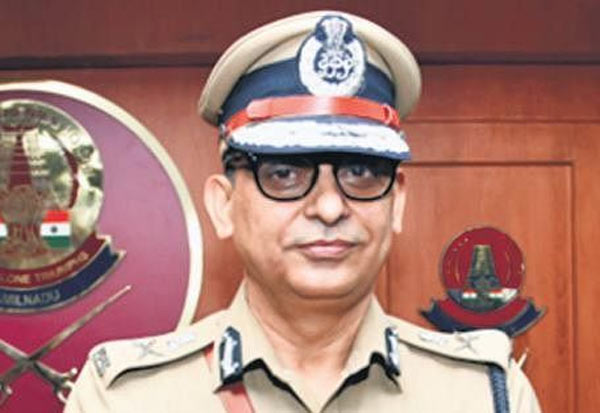 Chennai Top Cop, Hospitalized, Chest Pain