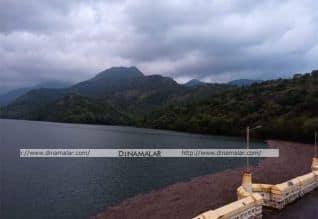 நெல்லை, தென்காசி மாவட்ட அணைகளின் நீர் மட்டம்