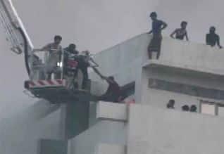 சூரத் தொழிற்சாலை தீவிபத்தில் இருவர் பலி; 125 பேர் ...