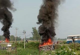 லக்கிம்பூர் வன்முறை சம்பவம்; மேலும் 4 பேர் கைது