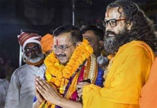 அயோத்தி ராமஜென்ம பூமியில் அரவிந்த் கெஜ்ரிவால் ...