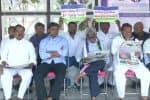 ஒய்.எஸ்.ஆர்., காங்., எம்.பி.,க்கள் டில்லியில் உண்ணாவிரதம்