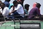சென்னை கோயம்பேட்டில் பயணிகள் போராட்டம்