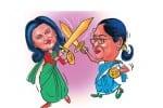 கவுகாத்தியில் மோதும் ராணிகள் எம்.பி.,யாக போட்டா போட்டி
