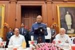 பிரதமர்- மத்திய அமைச்சர்களுக்கு ஜனாதிபதி விருந்து