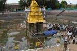 அத்திவரதர் அனந்த சரஸ் குளத்தில் ஸ்தாபனம்: 253 பேருக்கு மட்டுமே அனுமதி