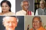 ஐந்து மாநில கவர்னர்கள் மாற்றம்