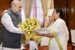 அமித் ஷாவுடன் மம்தா சந்திப்பு