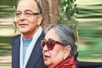 அருண் ஜெட்லி மனைவி  எம்.பி.,யாகிறாரா?
