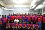 வாலிபால் பயிற்சியாளர்கள் முகாமில்