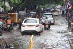 சென்னையில் கனமழை : சாலைகளில் வெள்ளம்