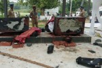 கோவிலில் சுவாமி சிலைகள் உடைப்பு: ஈரோடு, சிவகிரியில் மறியல்