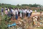 செங்கால் ஓடை: கலெக்டர் ஆய்வு