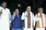 பா.ஜ.,- ஜே.ஜே.பி., கூட்டணி முடிவானது ;  ஹரியானாவில் பா.ஜ., கூட்டணி ஆட்சி