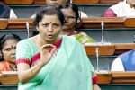 'ரூ.2,000 நோட்டு சிக்குவது குறைந்தது': மத்திய நிதியமைச்சர் நிர்மலா சீதாராமன்,