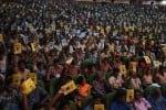 கொட்டும் மழையிலும் குவிந்தது மாணவர் கூட்டம்: 'சக்சஸ் மந்த்ரா' நிகழ்ச்சியில் பெற்றோரும் ஆர்வம்